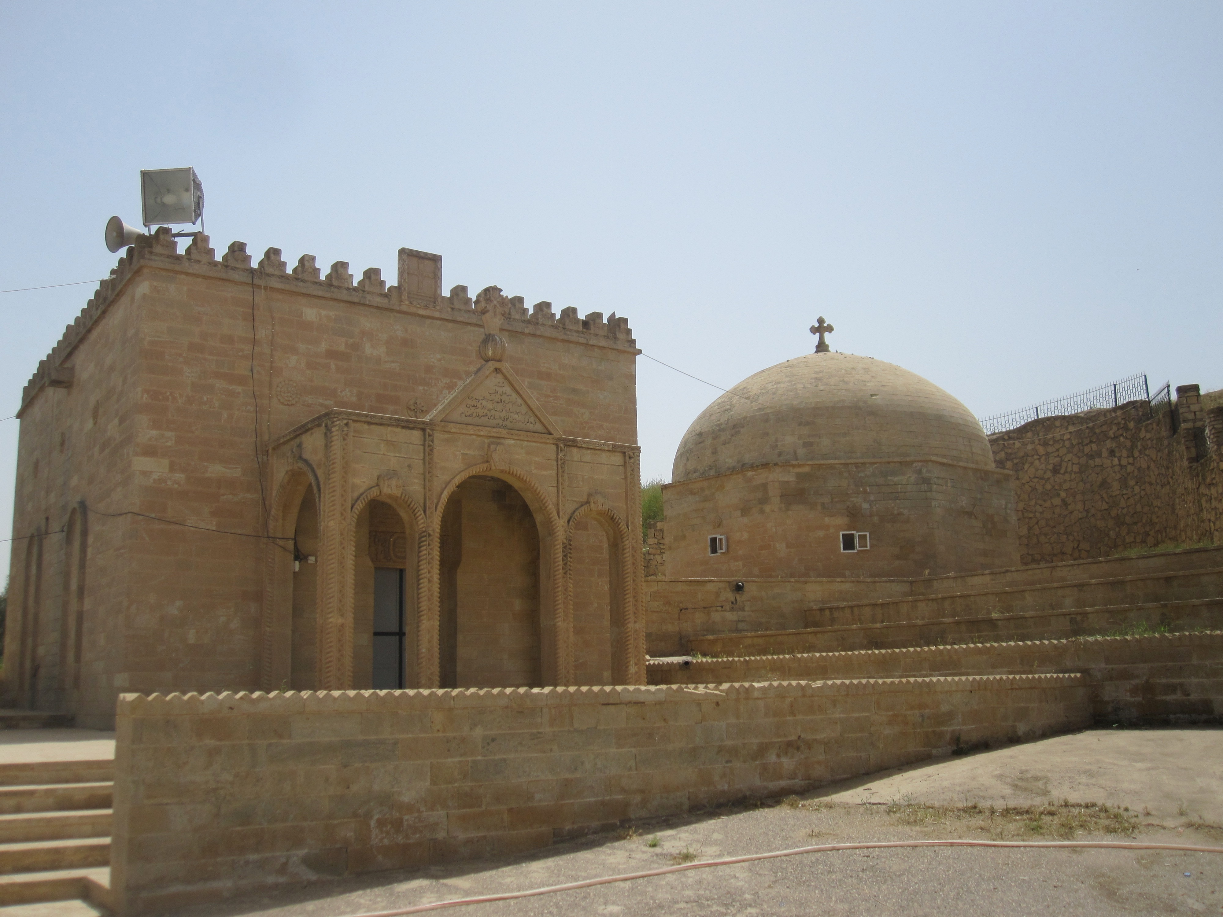 Shrine of Saint Behnam and Saint Sarah in Iraq.